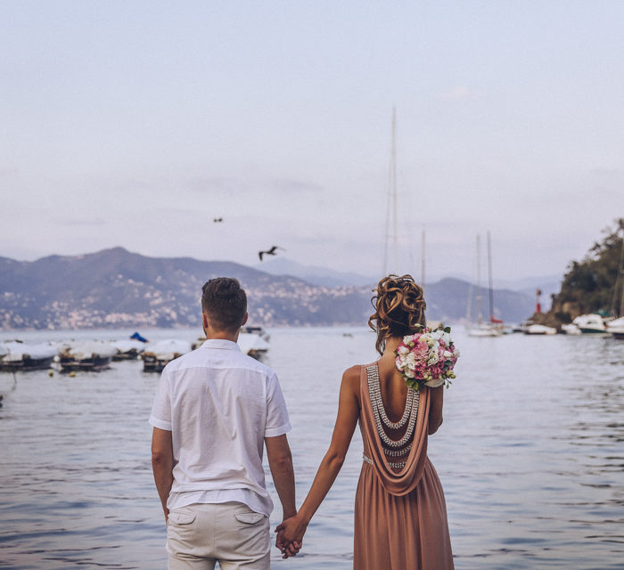 Elopement in Portofino | Дарина + Адель