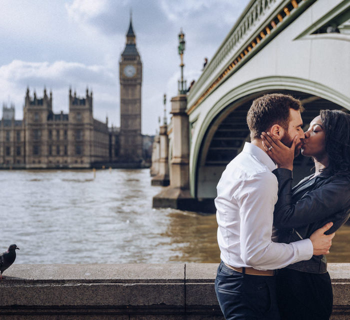 Engagement in London | Felicia + Davide
