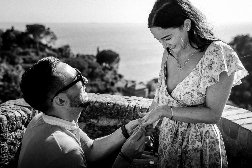 wedding proposal portofino