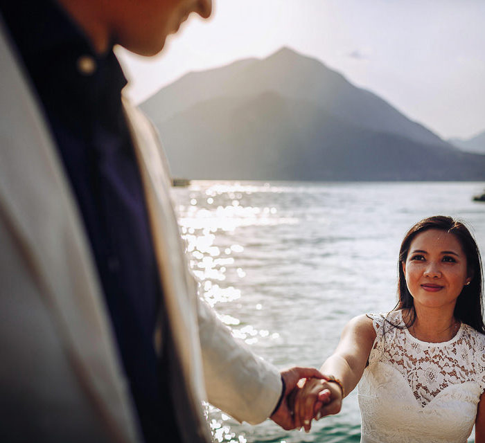 Engagement Lake Como | May + Loc