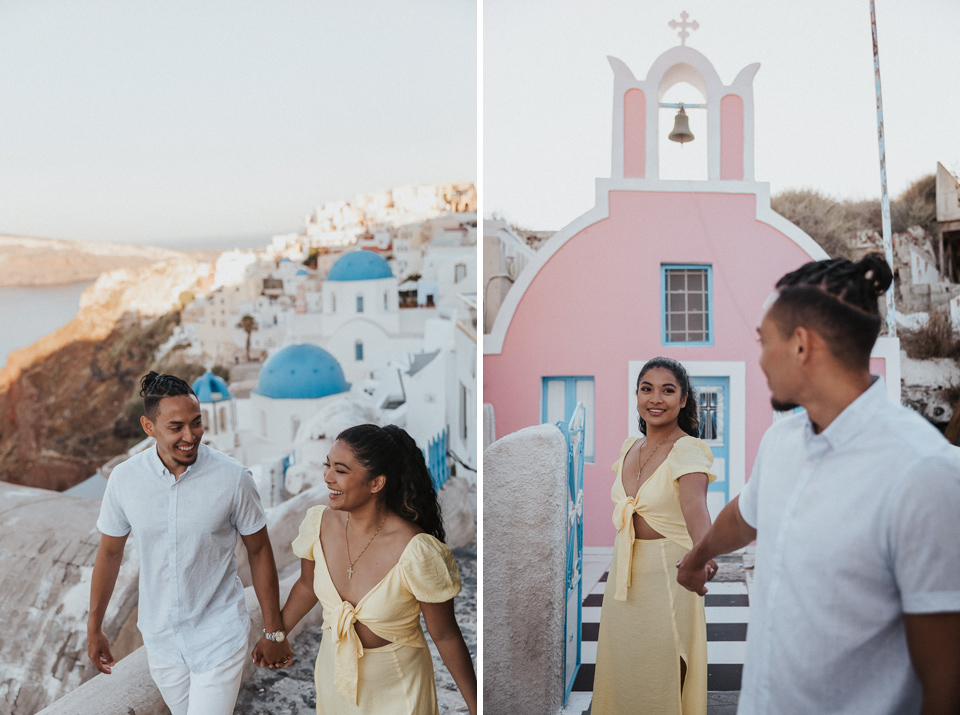 engagement santorini