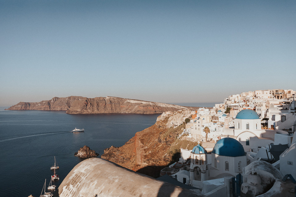 oia santorini wedding